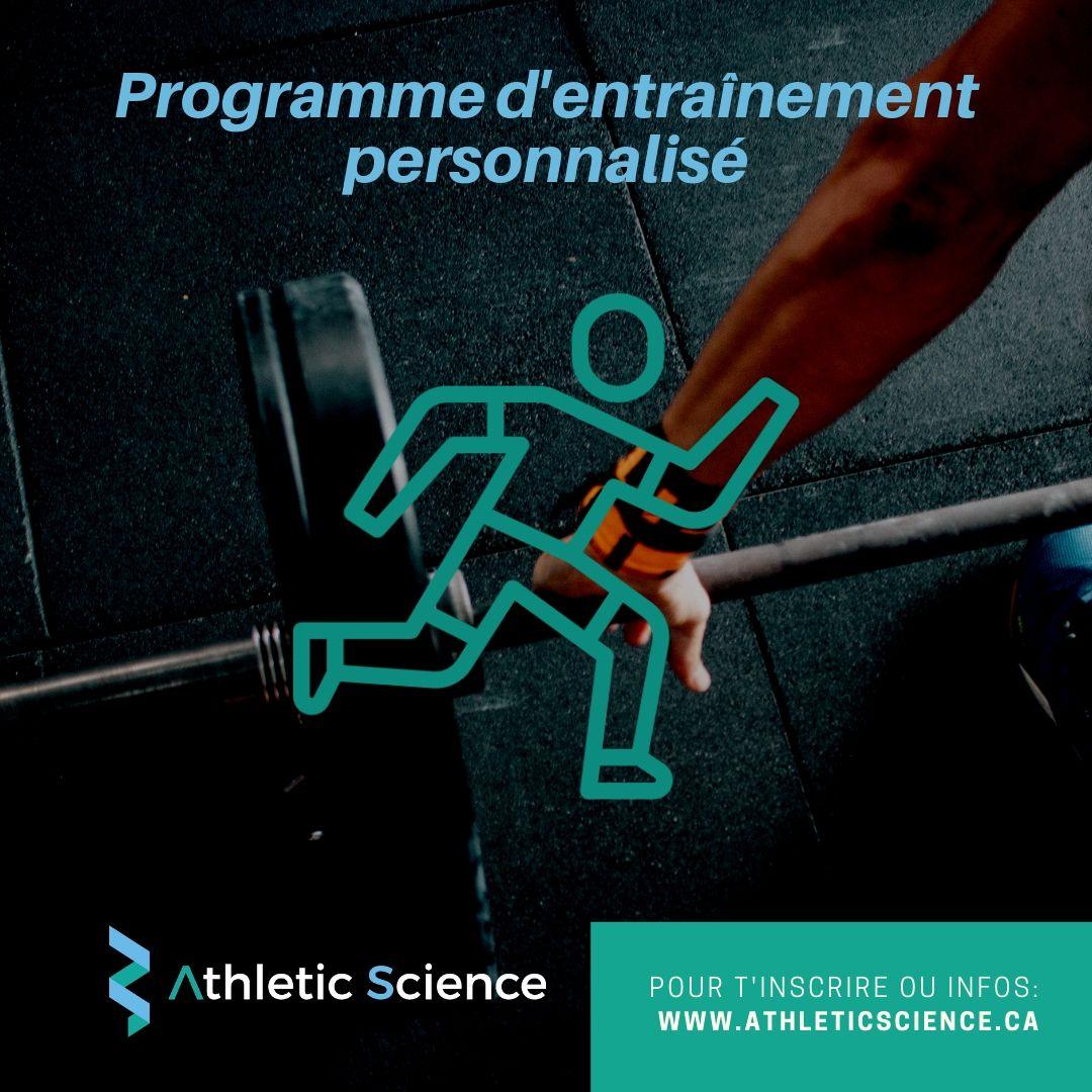 Programme d'entraînement personnalisé